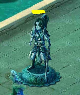 全民斩仙镇妖塔雕像