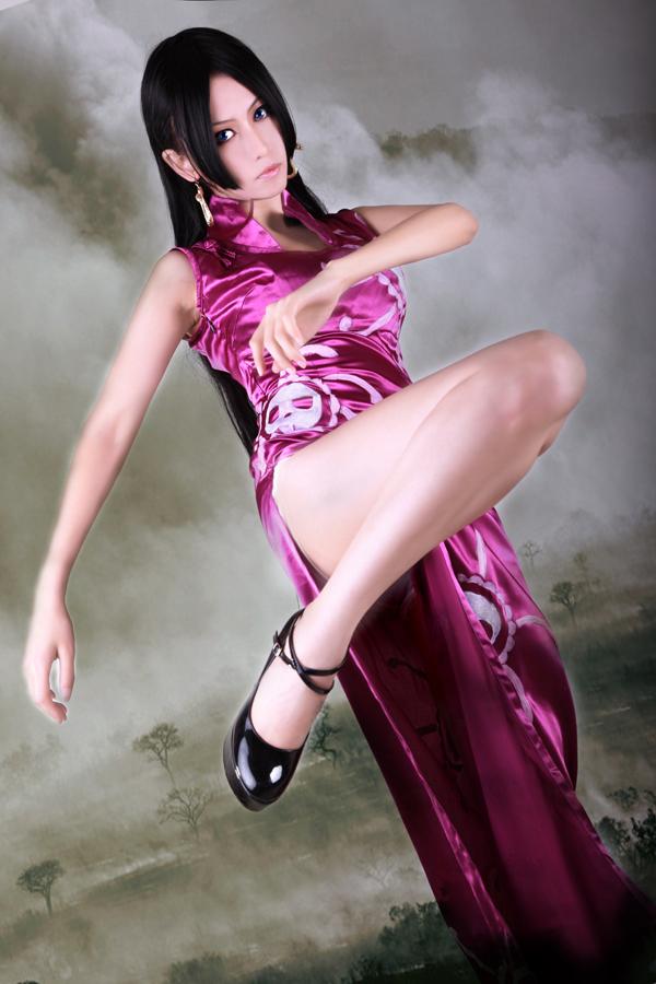 海贼王女帝cosplay那刹那间的 高清图片
