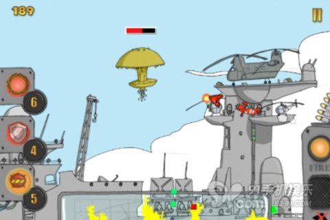 【红镖战斗机】横版风格打飞机游戏