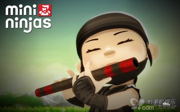 [迷你忍者]可爱卡通风动作游戏
