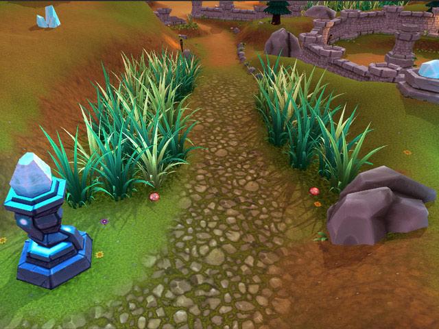 unity 3d资源:moba游戏森林场景