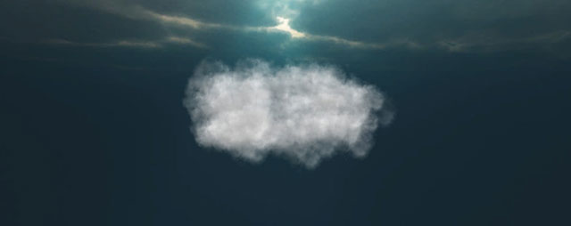 3D Animated Clouds