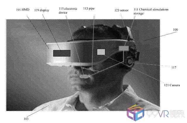 英特尔新VR头显专利