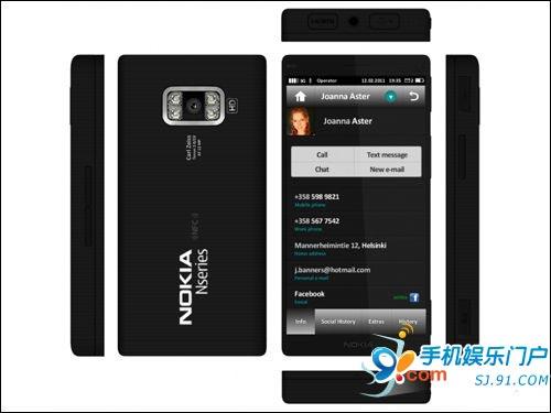诺基亚N10曝光 带4个闪光灯